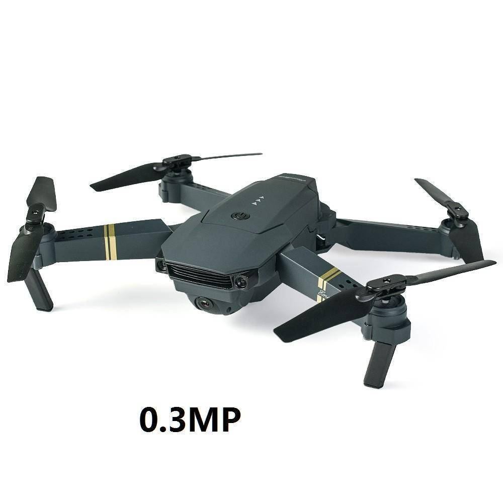 WIFI FPV With Wide Angle HD Camera High Hold / Drone with Camera / Quadcopter Tech Accessories Gadget Monkey 0.3MP