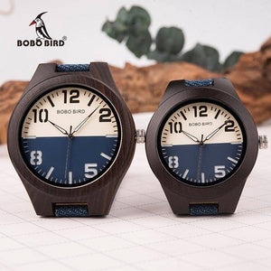 Mens and Womens Wooden Watch comes in a Beautiful Wood Gift Box Box Jewelry & Watches Gadget Monkey