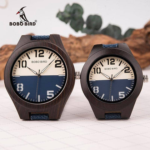 Image of Mens and Womens Wooden Watch comes in a Beautiful Wood Gift Box Box Jewelry & Watches Gadget Monkey