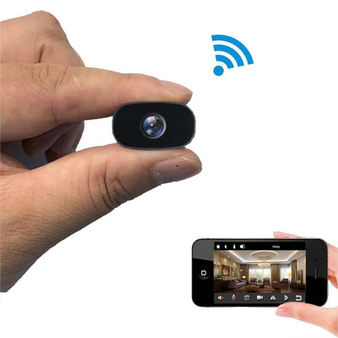 Image of Mini Camera - 1080P HD Wireless WiFi Remote Monitor Tech Accessories Gadget Monkey