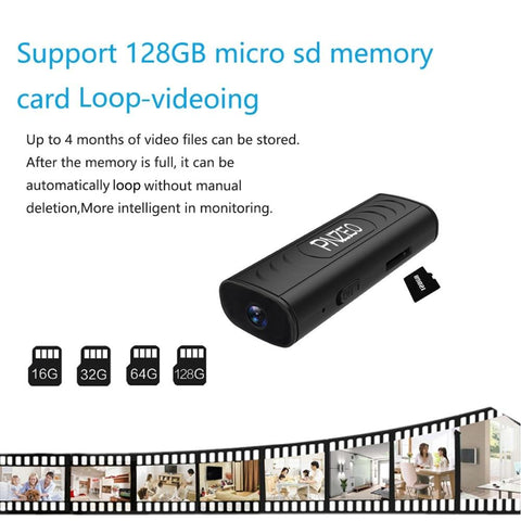 Mini Camera - 1080P HD Wireless WiFi Remote Monitor Tech Accessories Gadget Monkey