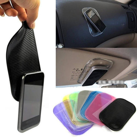 Image of Magic Stick Pad - Made of Silica Gel - Anti Slip Mat For Car Mobile Phone Tech Accessories Gadget Monkey