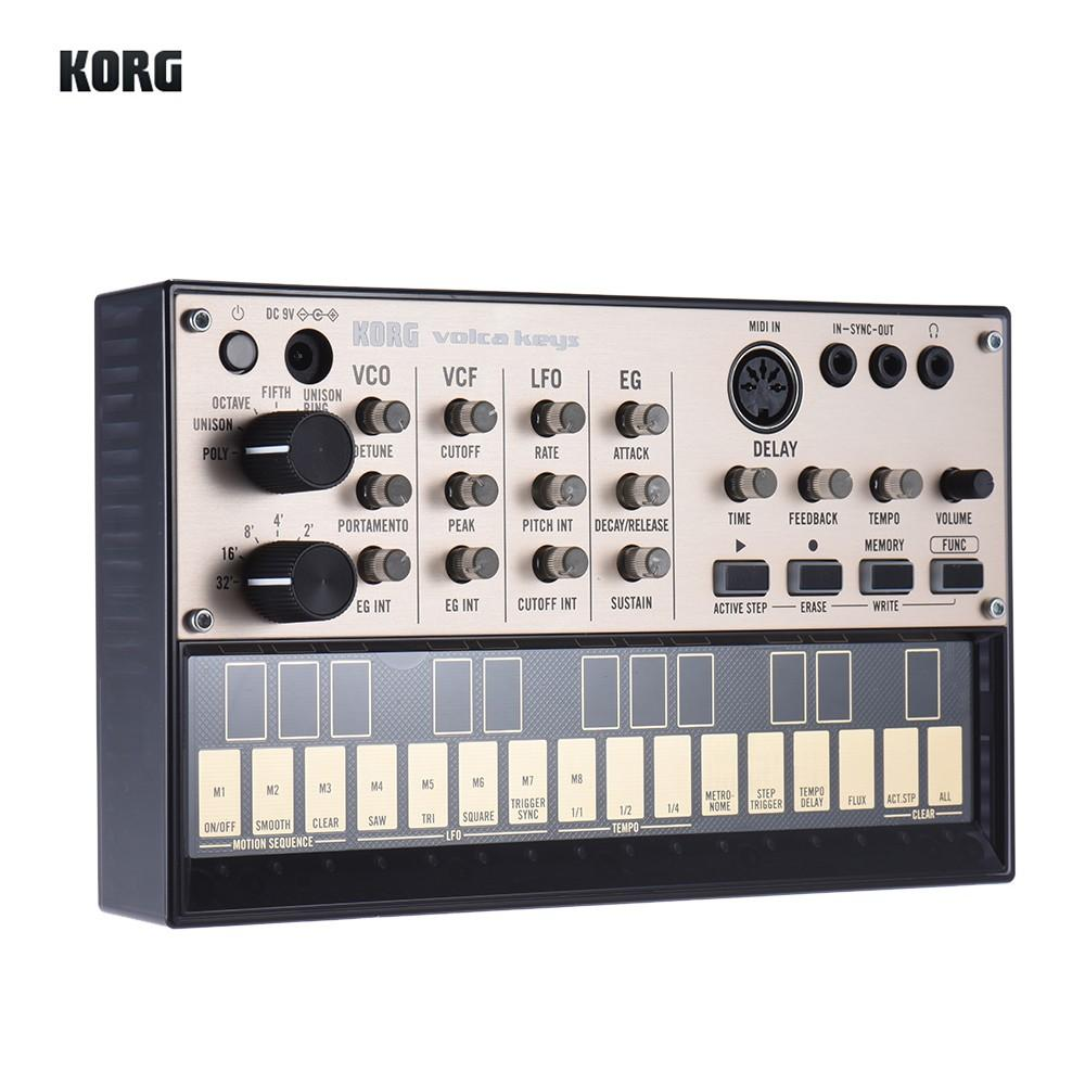 Portable Analog Synthesizer (Synth) with Built-in Delay Effect Loop Sequencer Tech Accessories Gadget Monkey KORG VOLCA KEYS