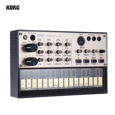 Image of Portable Analog Synthesizer (Synth) with Built-in Delay Effect Loop Sequencer Tech Accessories Gadget Monkey KORG VOLCA KEYS