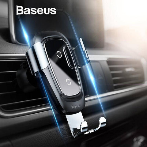 Qi Wireless Gravity Car Charger for iPhone and Samsung Tech Accessories Gadget Monkey