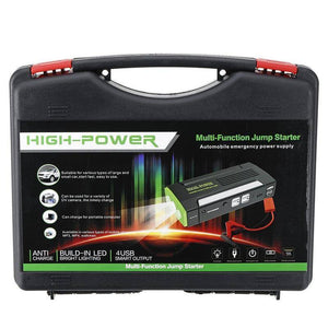 12 V Car Jump Starter Kit - Emergency Booster Tech Accessories Gadget Monkey