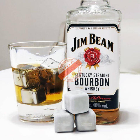 Image of Stainless Steel Ice Cubes - Reusable Chilling Stones and Beer Coolers Home & Garden Gadget Monkey