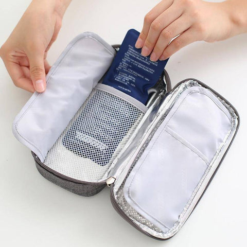 Image of Medical Cooler Bag For Diabetics Health & Beauty Gadget Monkey