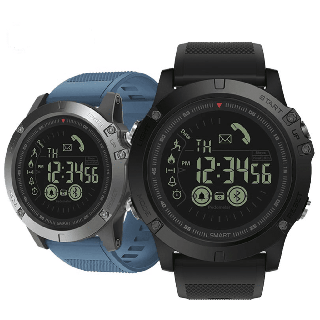 Rugged Waterproof Smartwatch and Fitness Tracker For IOS And Android Tech Accessories shopgadgetmonkey