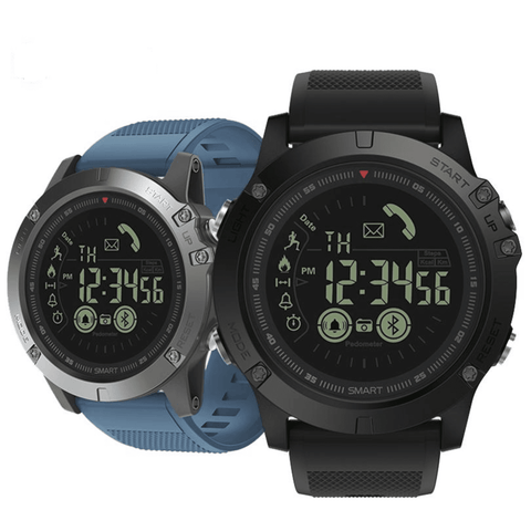 Image of Rugged Waterproof Smartwatch and Fitness Tracker For IOS And Android Tech Accessories shopgadgetmonkey