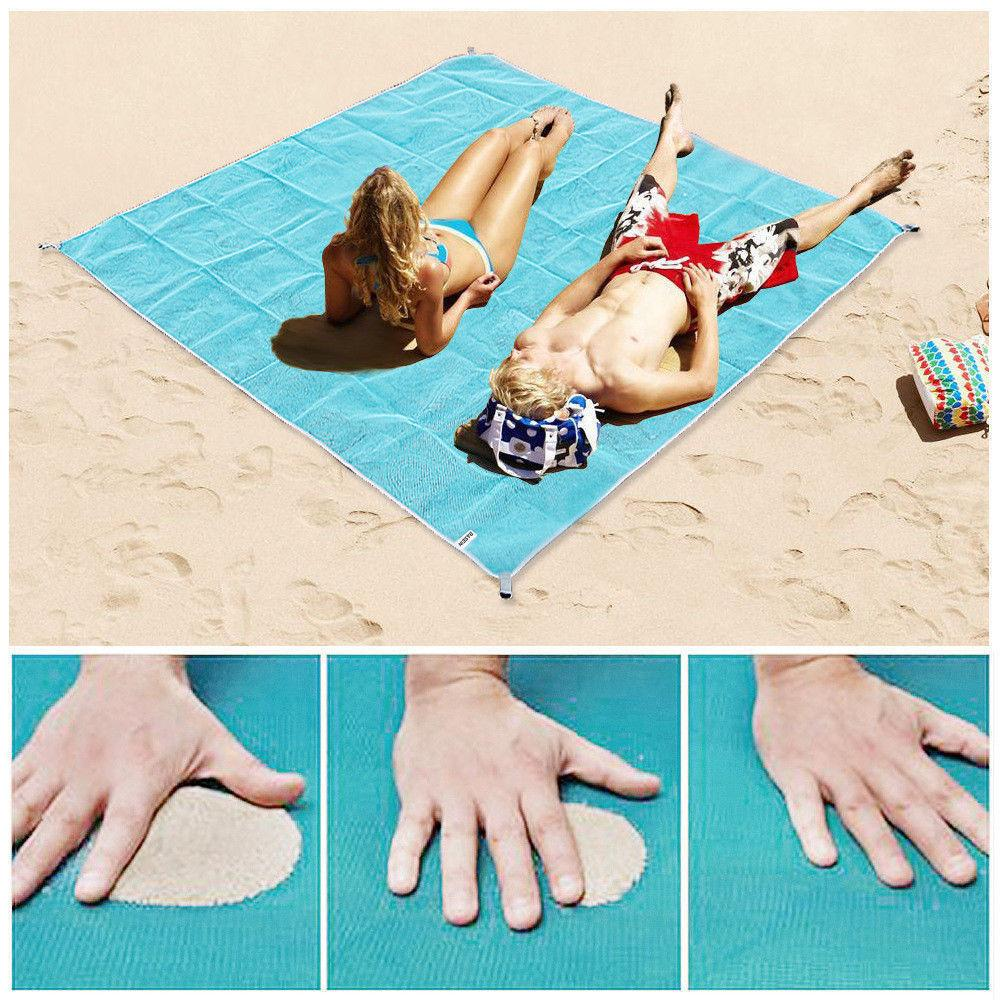 Sand Free Magic Beach Blanket Home & Garden Gadget Monkey