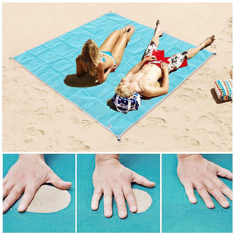 Image of Sand Free Magic Beach Blanket Home & Garden Gadget Monkey