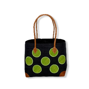 Mamy Polka Dots (Black/Green)