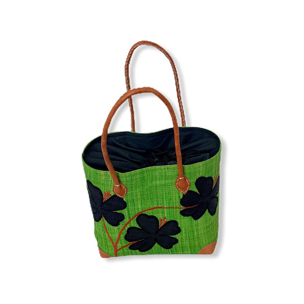 Mamy Flower Vines (Green/Black)
