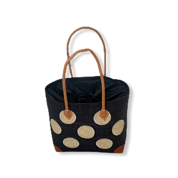 Mamy Polka Dots (Black/Tan)