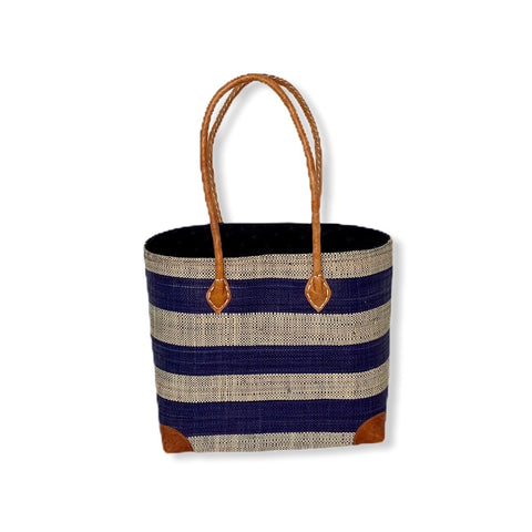 Mamy Stripes (Blue/Tan)