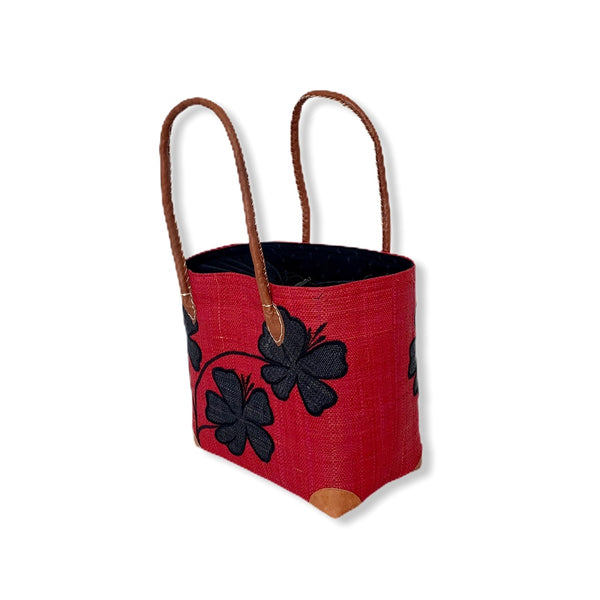 Mamy Flower Vines (Red/Black)