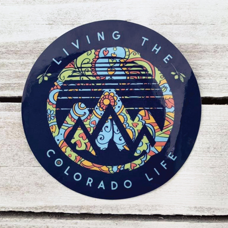 colorado groovy sticker