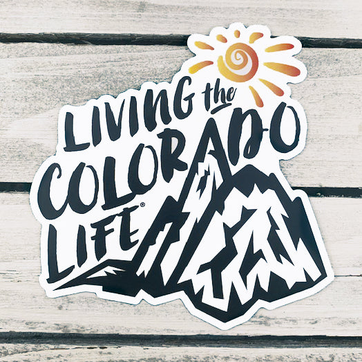 car magnet - colorado mountain