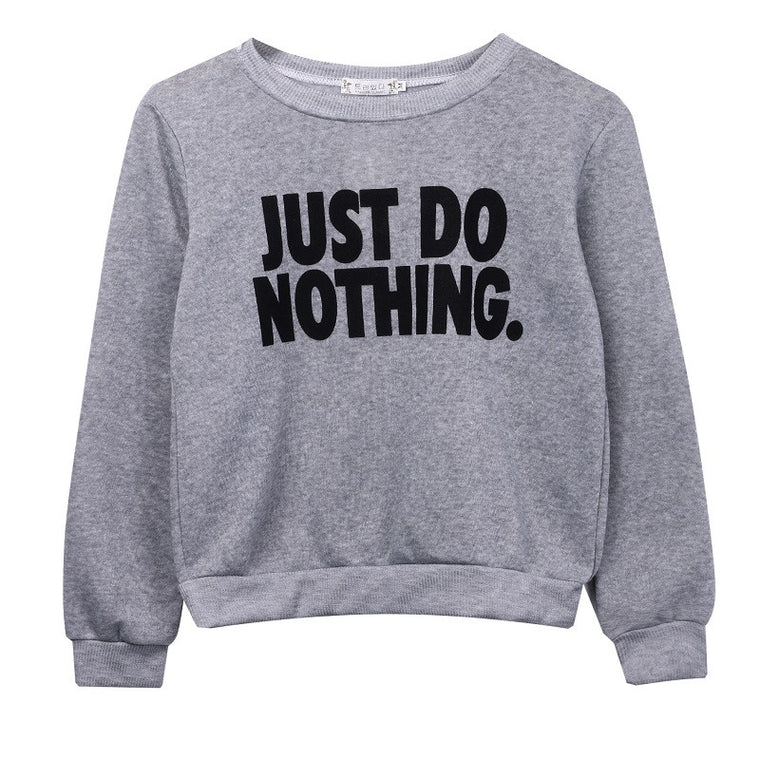 JUST DO NOTHING JUMPER