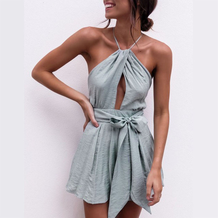 CROSS PLAYSUIT
