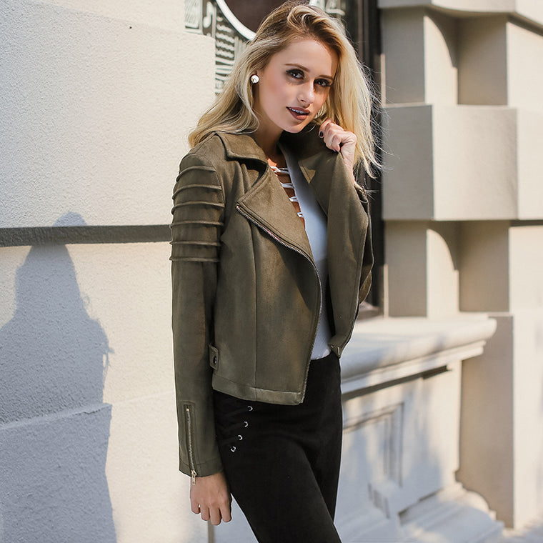 LILY LEATHER JACKET