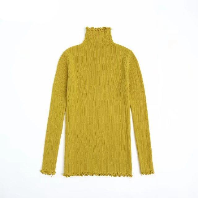 TURTLENECK THIN PULLOVER