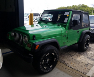 2006 Jeep Wrangler X Manual