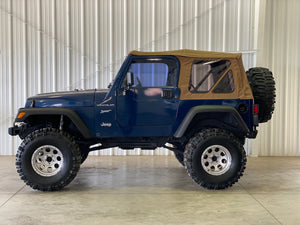 2002 Jeep Wrangler Sport 4.0L Manual