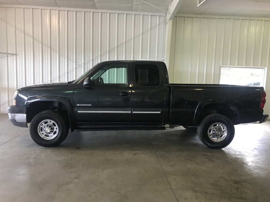 2003 Chevrolet Silverado 2500 HD Manual