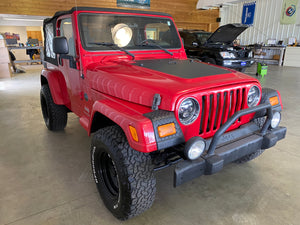 2005 Jeep Wrangler 4.0L Manual