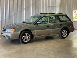 2003 Subaru Outback Manual