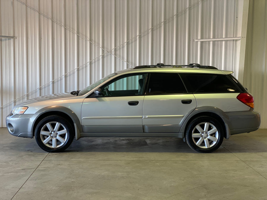 2007 Subaru Outback Manual