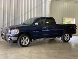 2007 Dodge Ram 1500 4WD Quad Cab SLT Manual