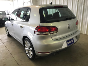 2012 Volkswagen Golf TDI Manual