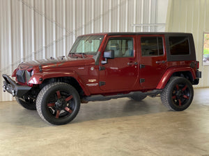 2008 Jeep Wrangler Unlimited Sahara Manual