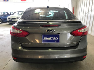 2014 Ford Focus Titanium Manual Transmission