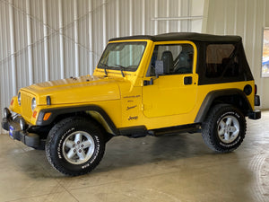 2000 Jeep Wrangler Sport Manual