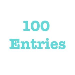 Donate To Get 100 Entries