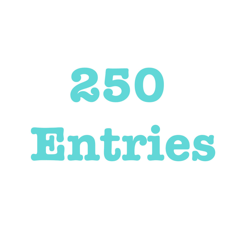 Donate To Get 250 Entries