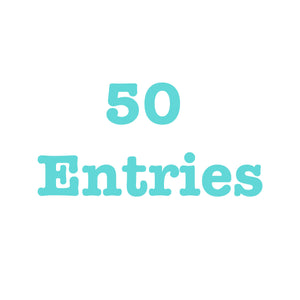 Donate To Get 50 Entries
