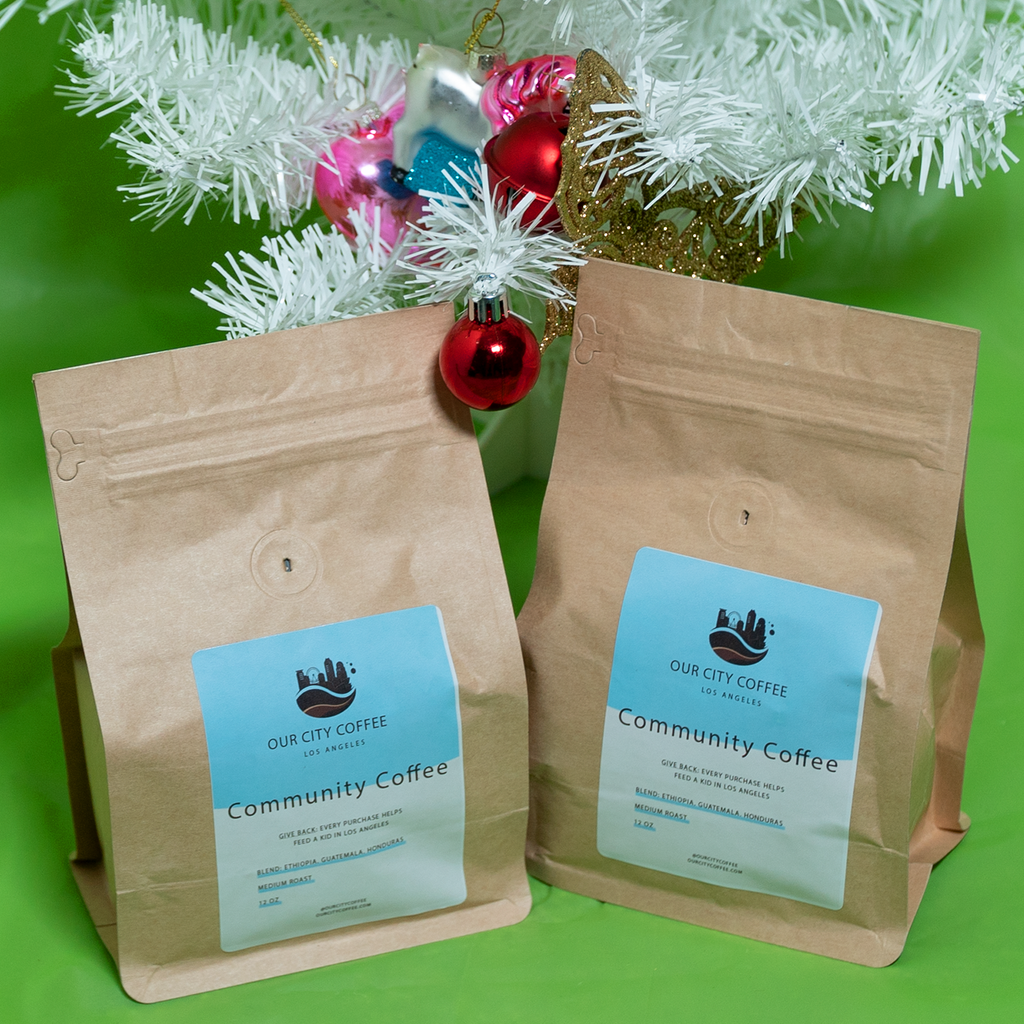 GIFT: 2 Bags Community Coffee (Medium/Light Roast)