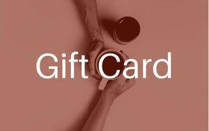 Coffee Gift Card + Marshall Family