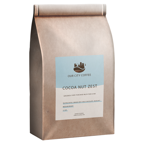 Small - Cocoa Nut Zest - Ground