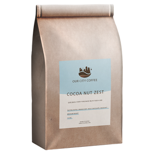 Small - Cocoa Nut Zest - Whole Bean