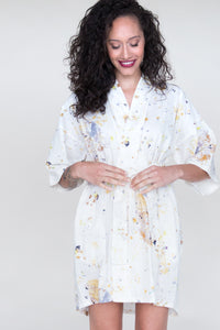 Eleanor | Meadow Cotton Robe