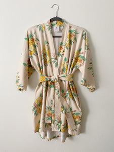 Eleanor | Floral Knit Robe