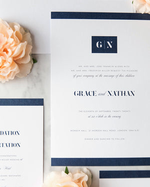Grace Modern Wedding Invitation