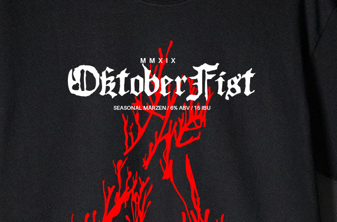 OktoberFist the Red T-Shirt