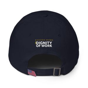 Dignity of Work Canary Dad Hat